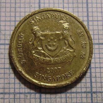 Сингапур, 5 центов 2007
