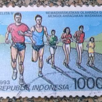 марки Индонезия спорт с 1 гривны
