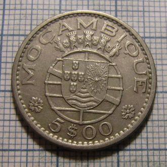 Мозамбик, 5 эскудо 1973 г
