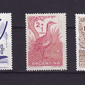 Фауна. Птицы. Аргентина 1960г