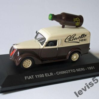 Fiat 1100 ELR Chinotto Neri 1951 Eaglemoss 1:43