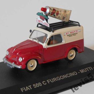 Fiat 500C Furgoncino Mutti 1954  Eaglemoss 1:43