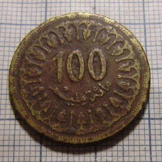 Тунис, 100 миллим 1960 г.