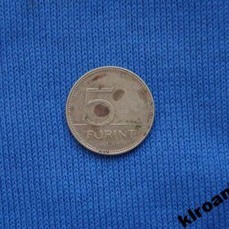 Венгрия 5 форинтов 2000 г