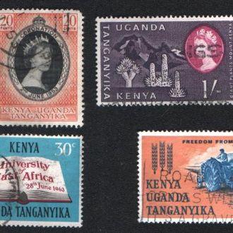 Кения, Уганда и Танганьика. Британская колония