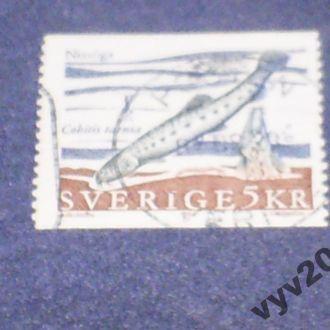 Швеция-1991 г.-Рыба