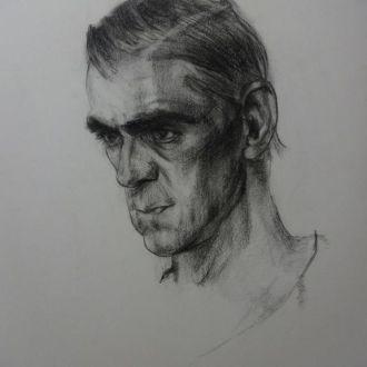 Картина (копия ) Фешен Мужчина 40х50