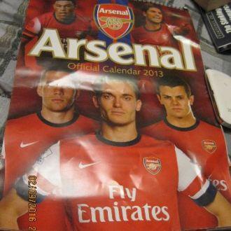 Arsenal календарь книга АНГЛИЙСКОМ ЯЗЫКЕ футбол