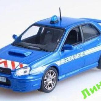 Полицейские машины мира ПММ Subaru impreza