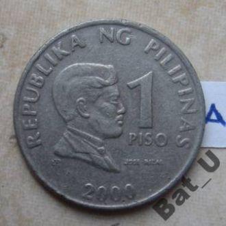 Филиппины. 1 песо 2000 года.