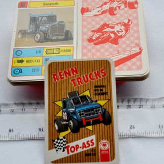 Top Trumps *ASS 1994* RENN TRUCKS