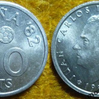 Испания 50 сентимо 1980 состояние в коллекцию
