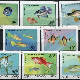Вьетнам Фауна Рыбы КЦ -11 Евро Серия беззуб. гаш