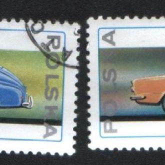 Польша (1976) Автомобили. Варшава и ФИАТ-125