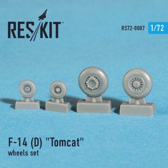 Reskit - 72-0007 - Колёса F-14 D Tomcat - 1:72