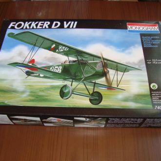 Monogram - 74005 - Fokker D VII - 1:48