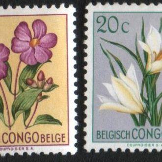 Бельгийское Конго (1952) Колония. Цветы