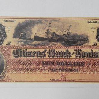 USA США - 10 Dollars 1860 КОПИЯ JavirNV