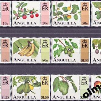 Anguilla / Ангилья - Фрукты 12м 1997 OLM-OPeN