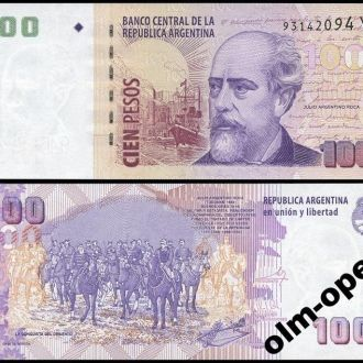 Argentina Аргентина  100 Pesos 2012 Series Y UNC