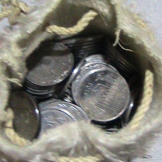Мешок (мешочек) денег .