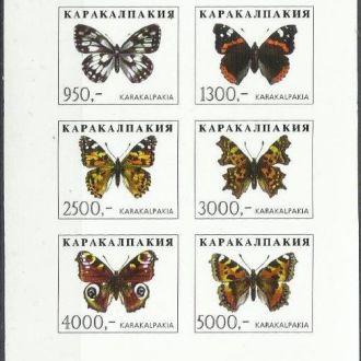 Узбекистан Каракалпакия 199? фауна бабочки 6м.Клб*
