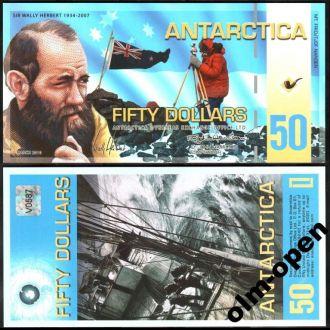 Antarctica / Антарктика - 50 Dollar 2010 - UNC OLM