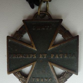 Австро-Венгрия  Пушечный Крест 1813-14 гг  клеймо