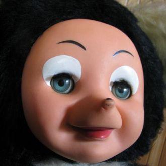 Кукла Мышь Мышка ГДР Sonneberg Gummigesicht 75 см