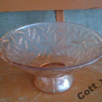 Фруктовница - цветное стекло