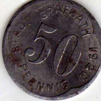 Германия 50 пф 1920 нотгельд