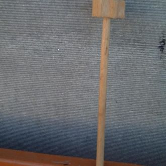 Масло взбивалка - дерево - ХХ век