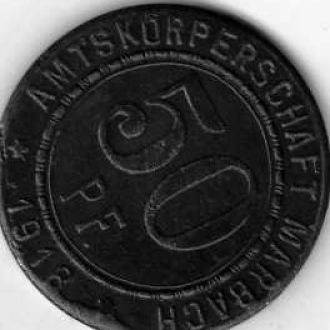 Германия 50 пф 1918 нотгельд