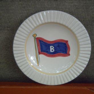 Милитария - тарелка - диаметр 21 см.