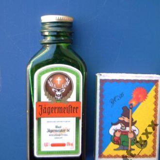 Мини - бутылочка - Германия - 0,02 литра