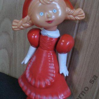 Кукла Красная Шапочка Целлулоид СССР 32см Редкая !