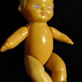 Кукла Куколка Пупс Пупсик Целлулоид СССР Клеймо