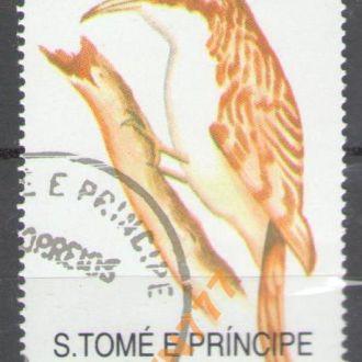 Сан-Томе 1992 фауна птицы