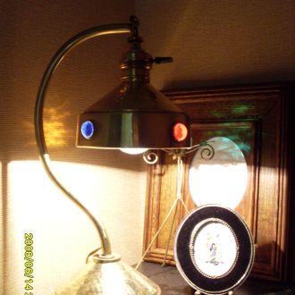 Французкая антикварная лампа.