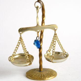 Домашняя утварь, миниатюра Чашечные весы, Germany