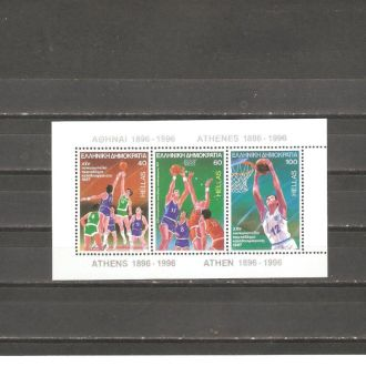 Спорт  Греция   1987г.  КЦ 7 евро  (см. опис.)