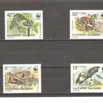 Фауна  Болгария   1989г.  (см. опис.)