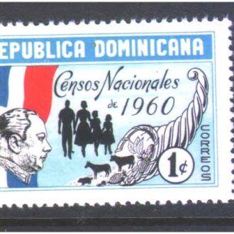 ZM А Доминикана 1959 г MNH -