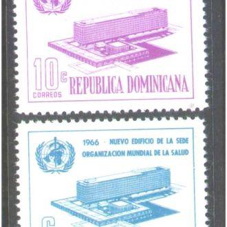 ZM А Доминикана 1966 г MNH -