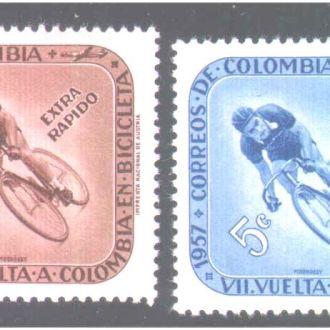 ZM А Колумбия 1957 г  MNH  - спорт