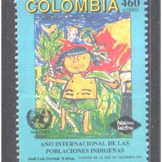 ZM А Колумбия 1993 г  MNH  - рисунок