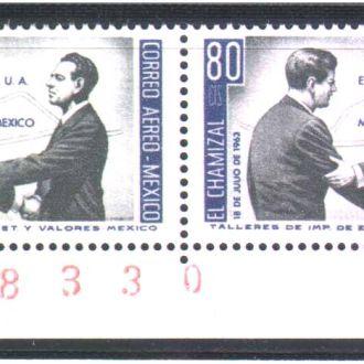 ZM А Мексика 1963 г MNH - пара