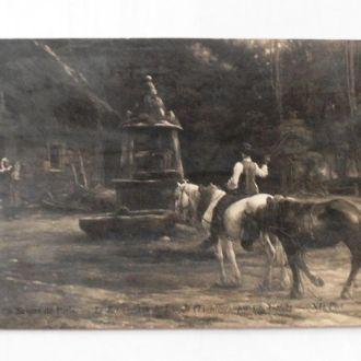 Антикварная открытка 2