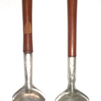 Кухонный набор - 2 предмета, мельхиор. СССР