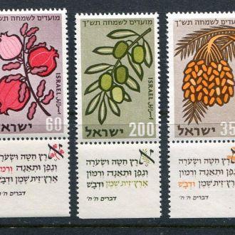 Израиль 1959 год Серия ** Флора